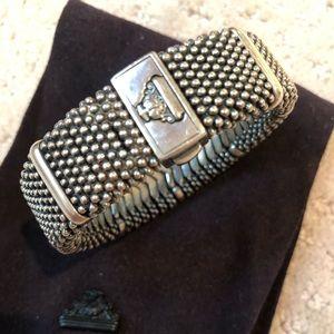 Lagos Caviar 925 Bracelet with Jewelry Bag